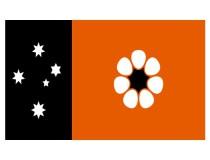 La bandera del Territorio del Norte, una enseña diferente