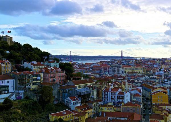 Preciosas vistas de Lisboa