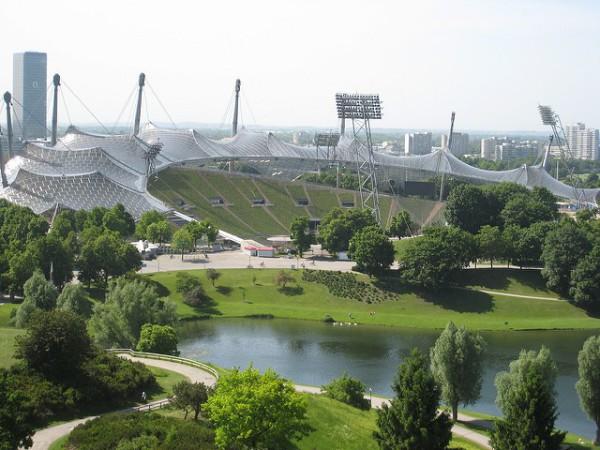El Parque Olímpico de Munich es uno de los pulmones de la ciudad