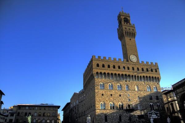 El Palazzo Vecchio, en Florencia