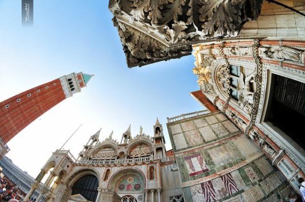 La Plaza de San Marcos es el lugar más famoso de Venecia