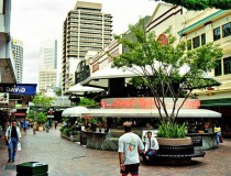 The Queen Street Mall, en Brisbane