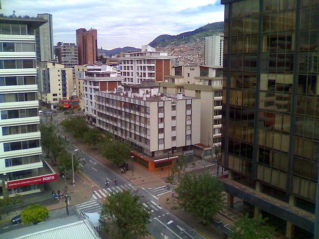 Avenida Amazonas de Quito