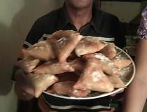 Receta Briwat de pollo de Marruecos