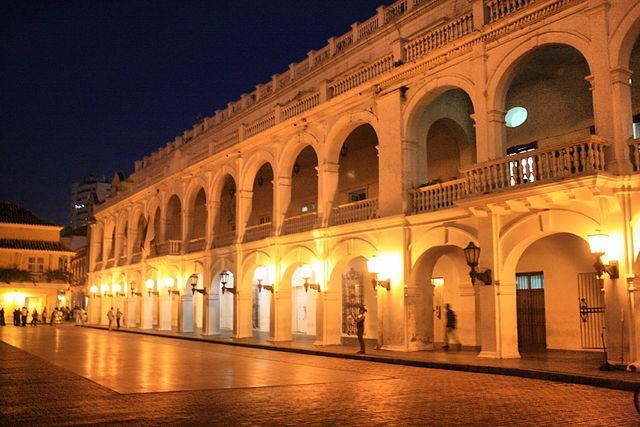 Palacio de Gobernación en Cartagena de Indias