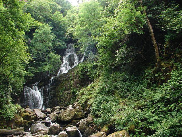Cascada de Torc en Killarney