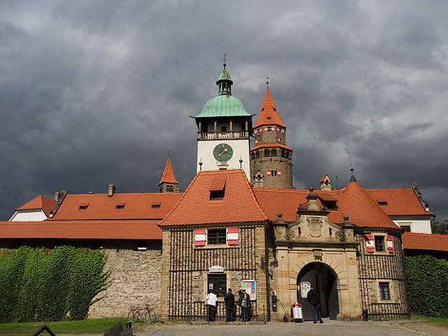 Tarjeta de la Región de Olomouc