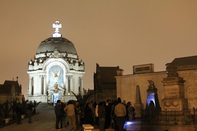 Cementerio Presbítero Matías Maestro en Lima