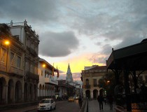 Paredones de Molleturo en Ecuador