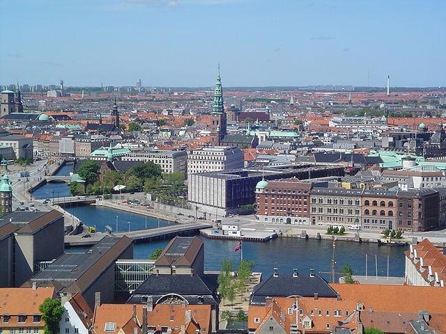 Columna de la Libertad en Copenhague