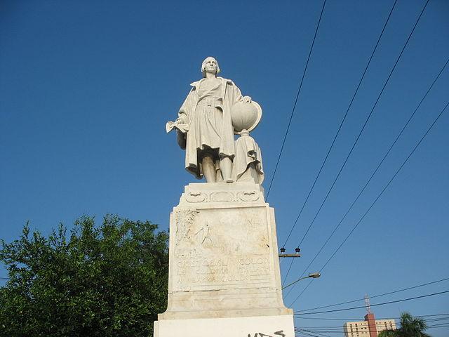Estatua de Cristóbal Colón en Barranquilla