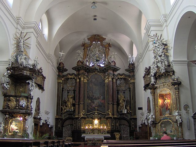 Iglesia de Santa María Magdalena de Brno