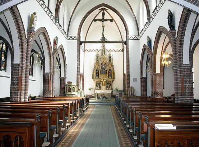 Iglesia San Albano en Odense