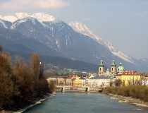 Fuente Rudolph en Innsbruck