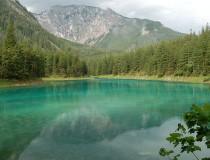 Lago Verde en Austria