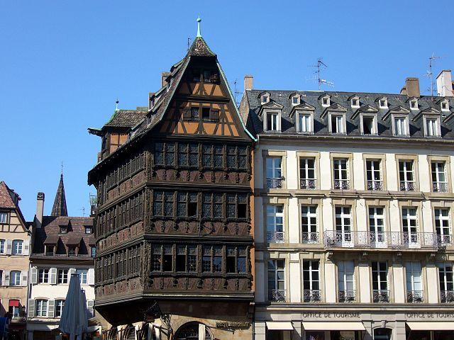 Casa Kammerzell en Estrasburgo