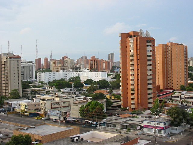 Plaza Bolívar en Maracaibo