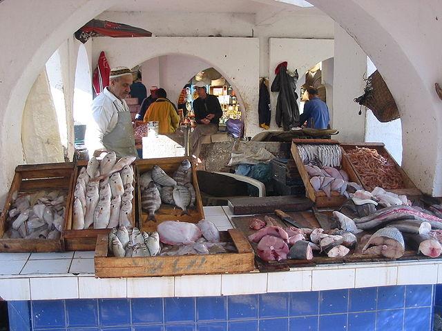 Mercado de Pescado de Essaouira