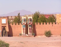 Mercado del domingo de Ouarzazat
