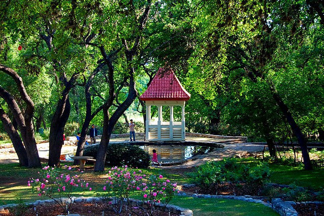Jardín Botánico Zilker en Austin