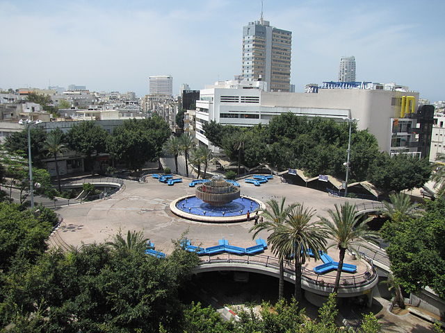 Plaza Dizengoff en Tel Aviv