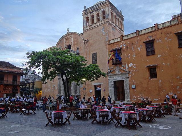Plaza de Santo Domingo de Cartagena de Indias