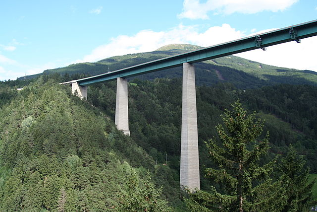 Puente Europa en Innsbruck