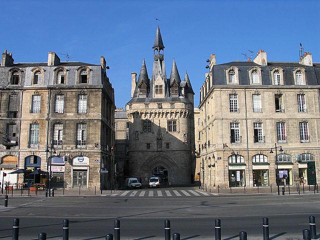 Puerta de Cailhau de Burdeos