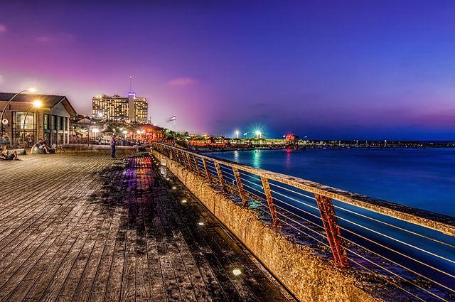 Mercado del Puerto en Tel Aviv
