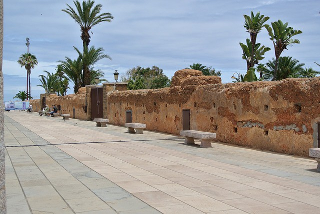 Jardines Exóticos Sidi Bouknadal en Rabat