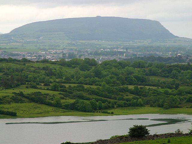 Castillo Ballymote de Irlanda