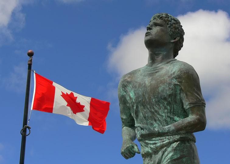 Estatua de Terry Fox en Vancouver