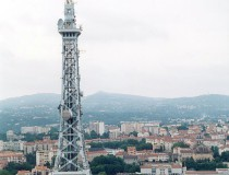 Torre Metálica de Fourvière en Lyon