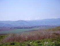 Valle de Hula en Israel