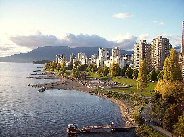 Parque Creekside en Vancouver