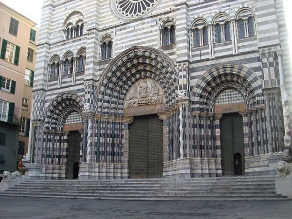 La Catedral de San Lorenzo es uno de los principales monumentos de Génova