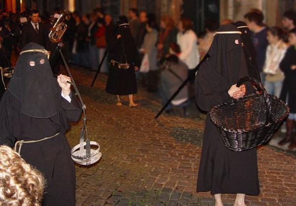 Los farricocos son una tradición de la Semana Santa de Braga