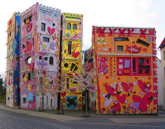 La casa más feliz del mundo está en Brunswick, Alemania