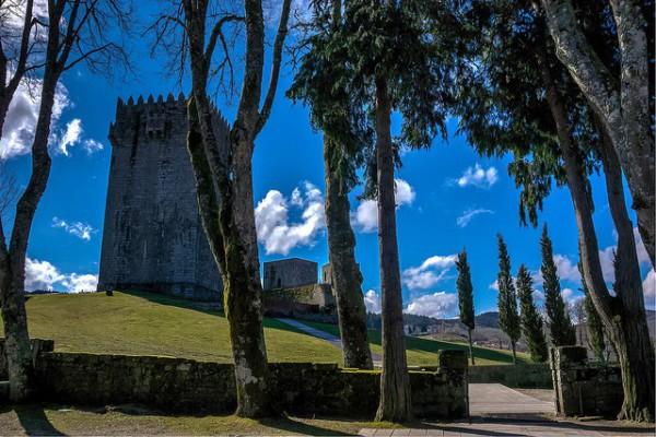 El Castillo de Montalegre, al norte de Portugal
