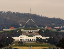 El Parlamento Australiano, en Canberra