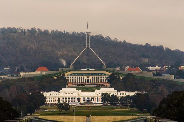 El Parlamento Australiano es uno de los lugares más visitados de Canberra