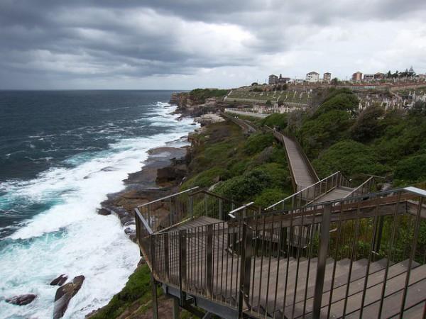 La costa de Sidney está recorrida por un bonito sendero