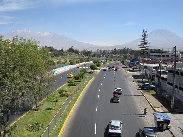 Plaza de los Héroes Navales de Arequipa