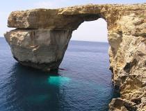Ventana Azul en Malta