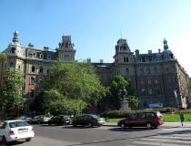 Körönd Kodály en Budapest