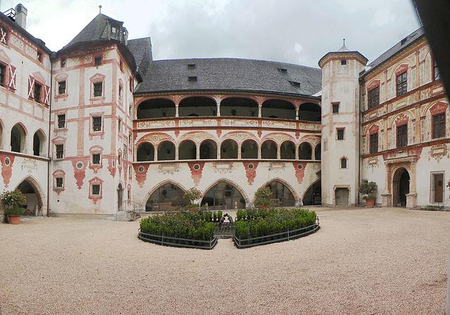 Castillo Tratzberg de Austria