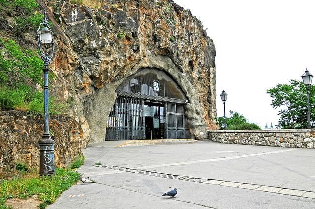 Cave Church en Budapest