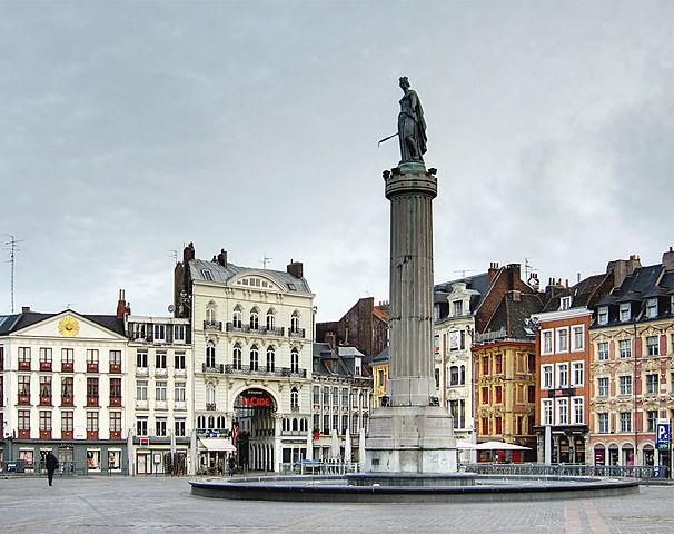 La Columna de la Diosa de Lille