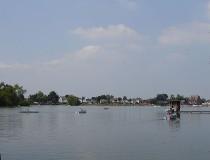 Lago Donkmeer en Bélgica