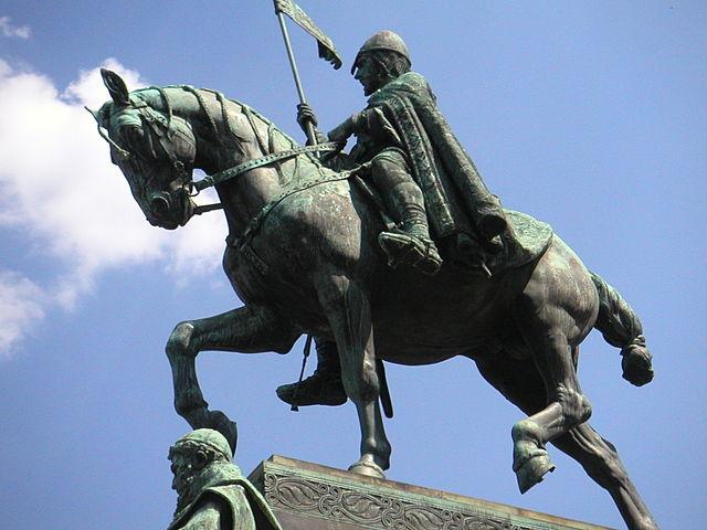 Estatua de San Wenceslao de Praga